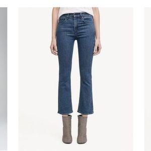 Rag & Bone Hana Slim Crop Boot-cut Jean